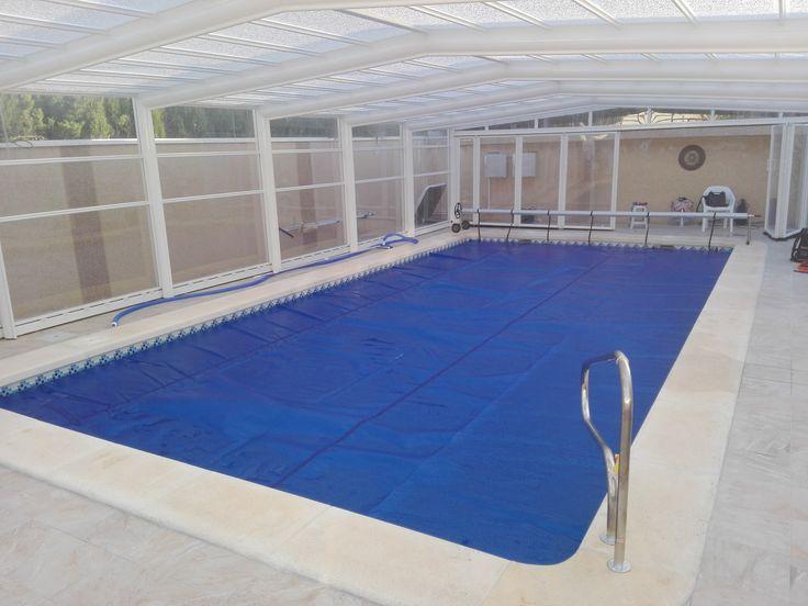 121 best cobertores de piscina images on pinterest for Cubre piscinas automatico