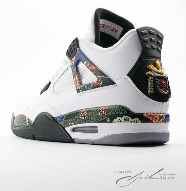 reebok revenge classic - Air Jordan 4 \u0026quot;Samurai\u0026quot; Custom | Shoe box | Pinterest | Jordan Iv ...