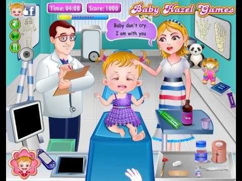 Baby Hazel Leg Injury - Play free online Baby Hazel Games