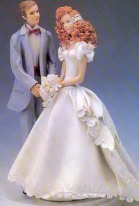 Свадебные Фигурки - Wedding Cake Toppers - Мастер-классы по украшению тортов Cake Decorating Tutorials (How To's) Tortas Paso a Paso