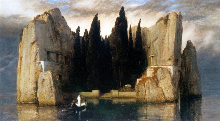 La isla de los muertos III de Arnold Böcklin (1883)