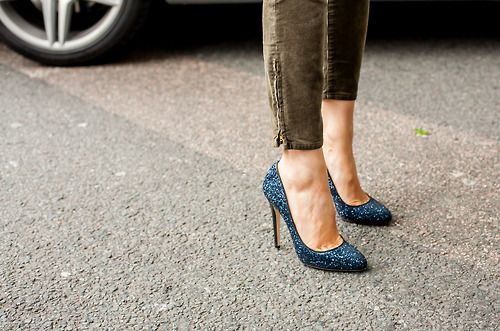 Fabulous shoes! Via riches for rags --   topshop:    Who doesn't love a pair of statement heels?