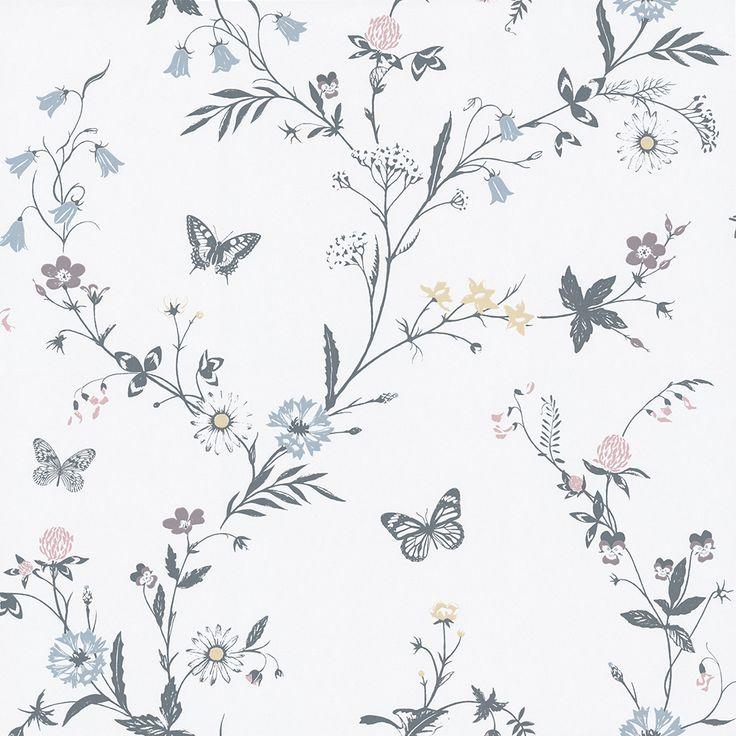 Blomstertiden Mönster och Färger har sitt ursprung i barndomsminnen från eviga sommrar…