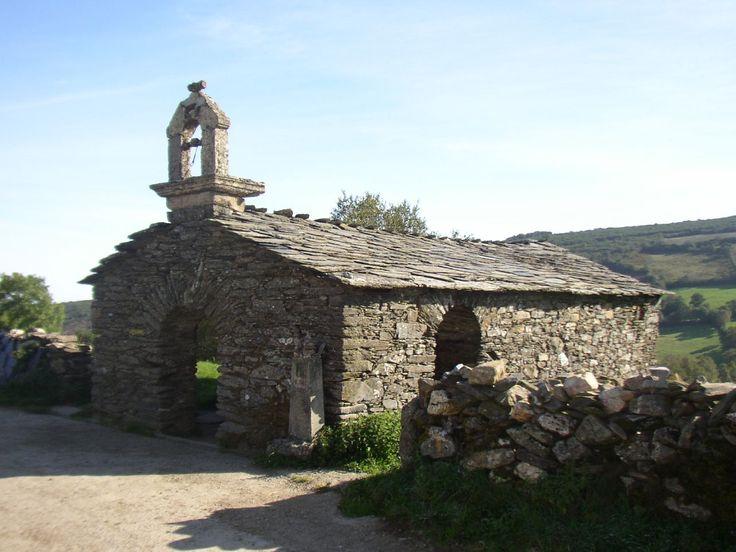 Ermita de San Pedro, O Biduedo, Lugo, Camino de Santiago