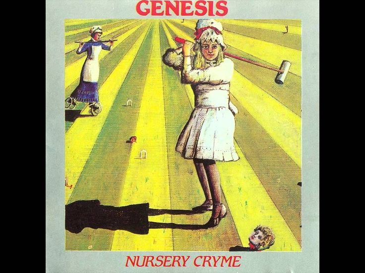 Genesis - Nursery Cryme (Full Album, Non-Remastered)