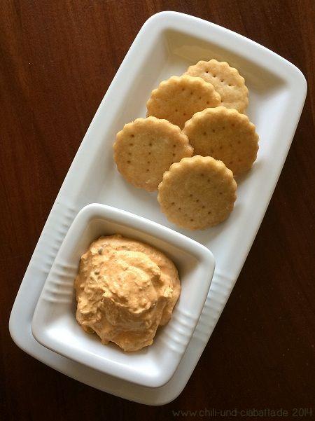 Liptauer mit Crackern