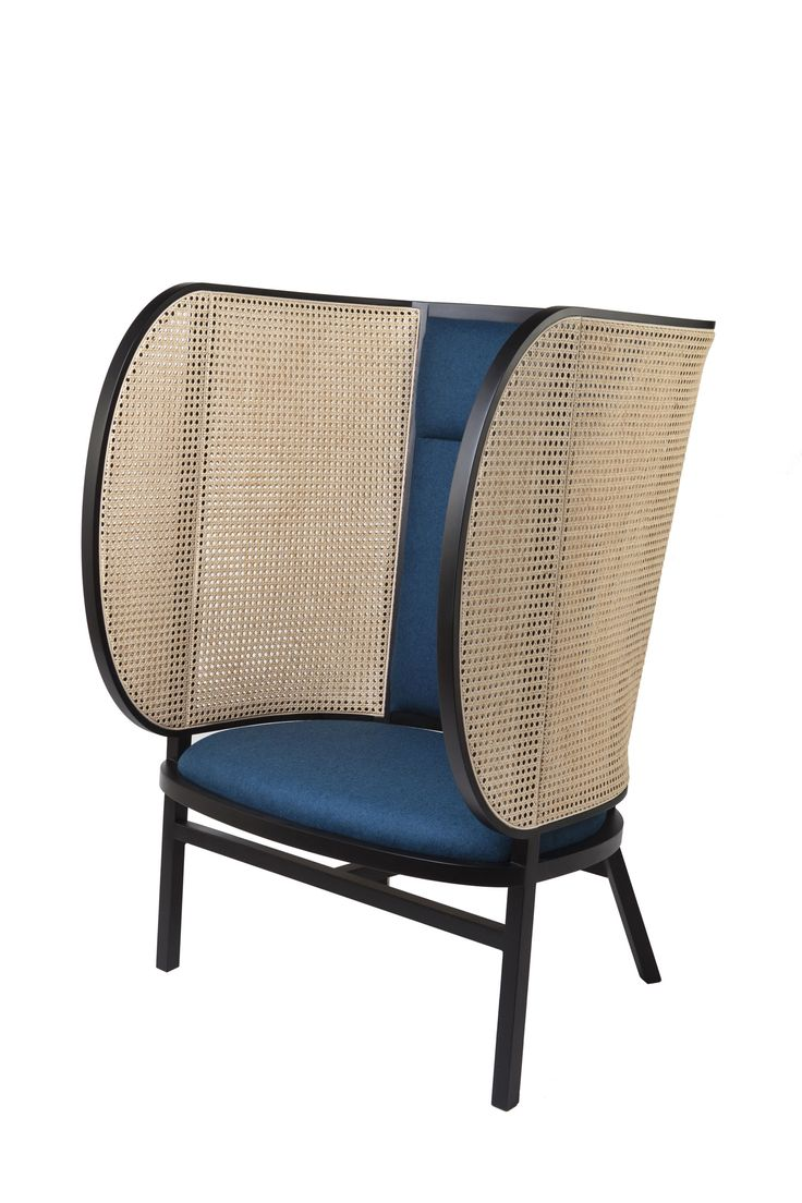 Gebruder Thonet HIDEOUT Lounge Chair by Front - Best of Salone Del Mobile 2015