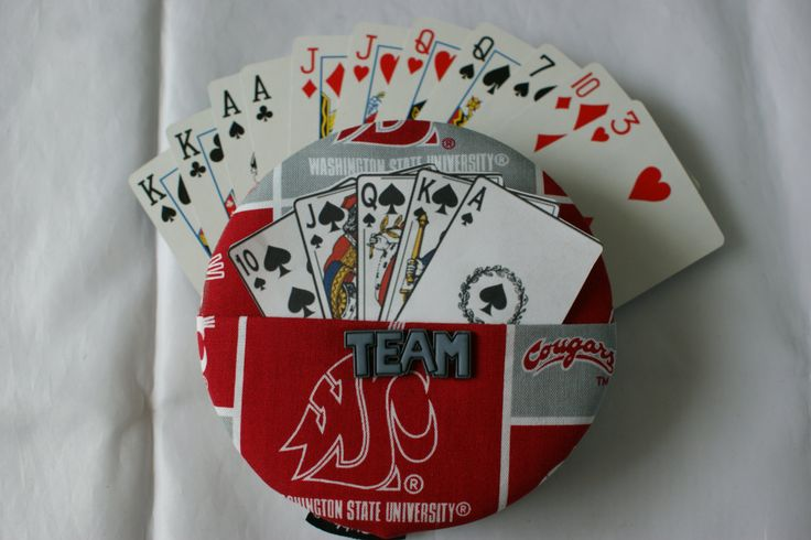 how to make card holders for playing cards