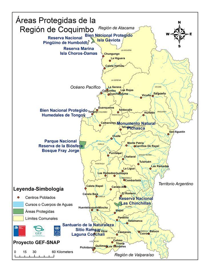 Áreas Protegidas de Chile: Coquimbo   PNUD, GEF y Ministerio del Medio Ambiente - Chile