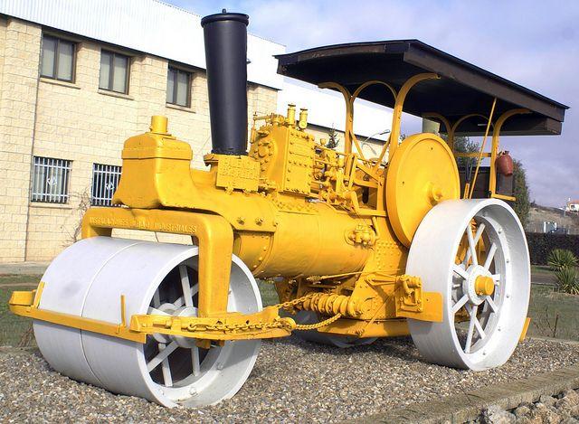 Instalaciones Industriales Bilbao Typ. 12 steam Roller | Flickr - Photo Sharing!