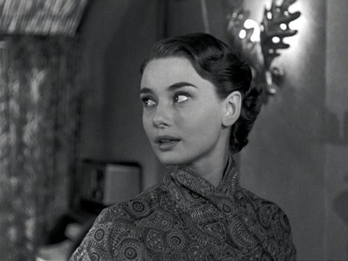 Audrey Hepburn as Princess Ann in Roman Holiday (Dir: William Wyler, 1953) #AudreyHepburn