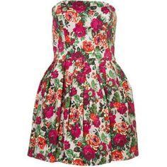 Платье в цветочек китай