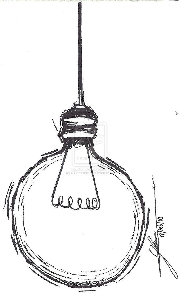 best 25  light bulb drawing ideas on pinterest