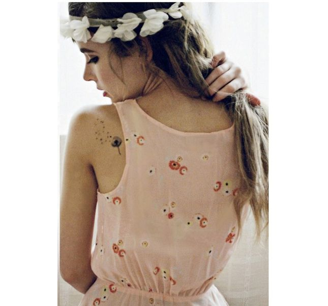 Tattoo back shoulder women