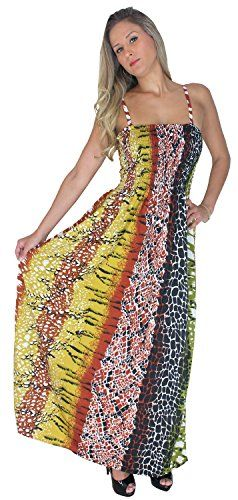 La Leela 3 In 1 Strap Summer Dress Long Skirt  Beach Maxi Smart Cover Up Brown Valentines Day Gifts 2017 -- You can find out more details at the link of the image.