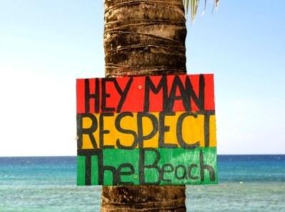 reggae style: Beaches, Life, Hey Man, Summer, The Beach, Beach Bum, Place, Respect