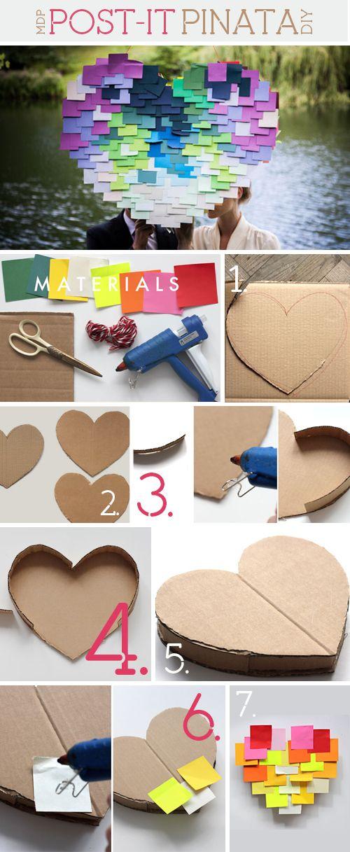 144 best images about post it art on pinterest note - Regalos para pinatas ...