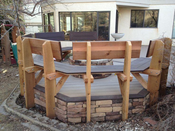 Cedar & Trex Benches www.thelittledecker.ca
