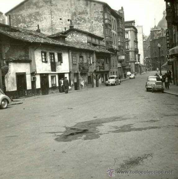 Calle Palacio Valdes. Años 50