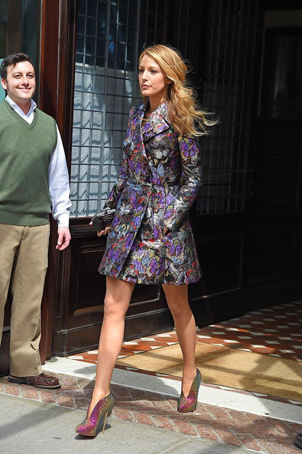 Elle's Fashion Boudoir : Blake Lively in Valentino | New York City