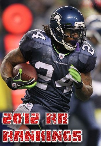 Gridiron Experts 2012 Fantasy RB Rankings