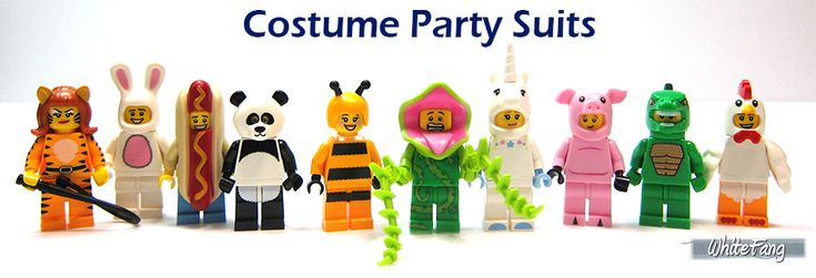 Lego Minifigures Costume Party 14 9 7 3 13 14 Lm