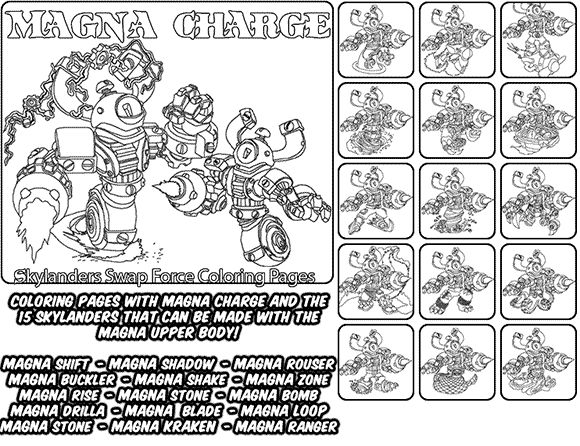 pop fizz coloring pages skylanders coloring pages images and ...