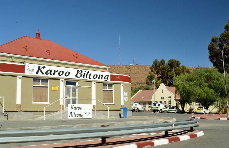 Karoo Biltong...yum...padkos
