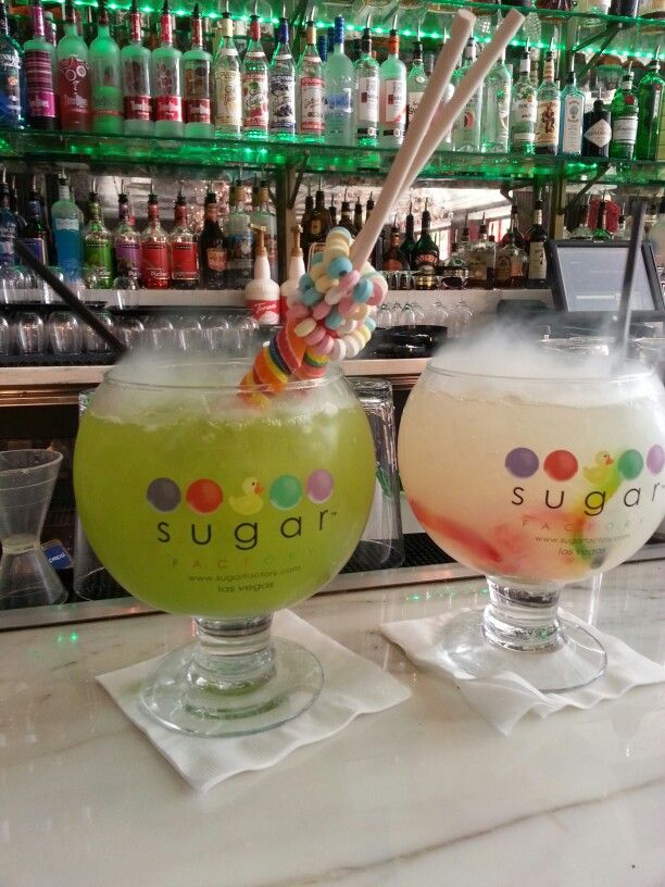 Sugar Factory in Las Vegas I would love to go here candy is like my addiction!