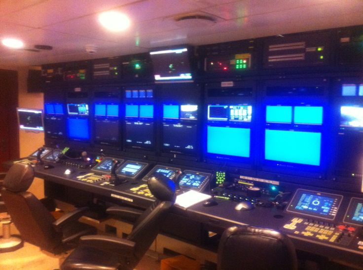 The ROV room on the Rem. I did a 3day run trip up to the islands from NZ. 7-3-16