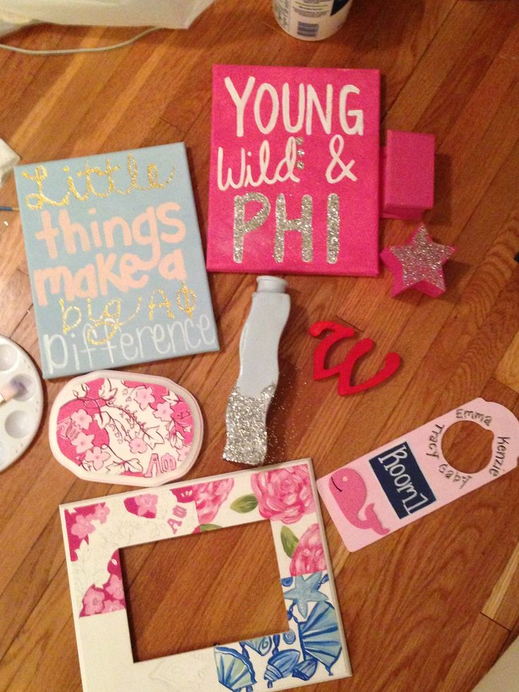 Alpha Phi big-little gifts
