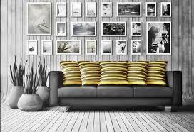Risultati immagini per parete rossa cornici bianche