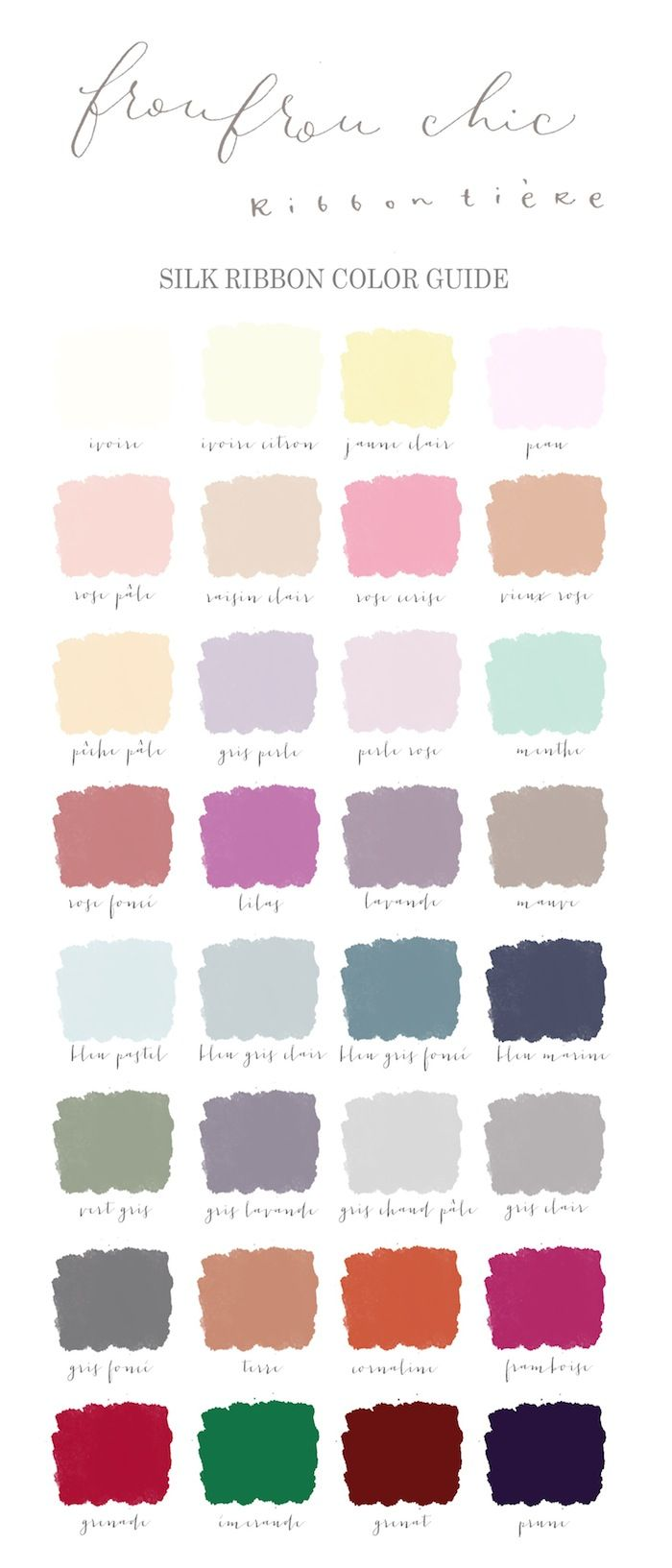 Color Guide / froufrouchic