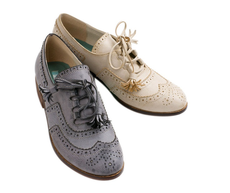from colehaan.com · Oliva Oxfords. love these!