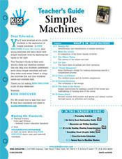 FREE, printable 12-page lesson plan for Kids Discover Simple Machines!