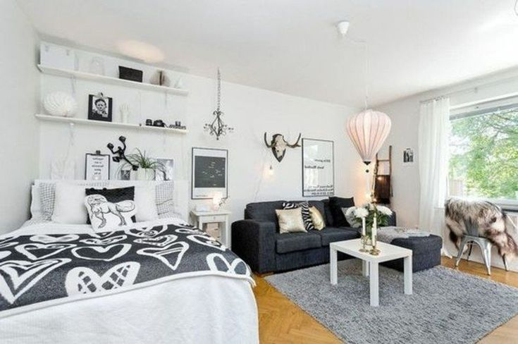 Awesome Tiny Studio Apartment Layout Inspirations 100