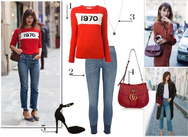Wij raakten #geïnspireerd door #model en #blogger #Jeanne #Damas. Wil jij dit #outfitje ook? Dat kan, met één klik...