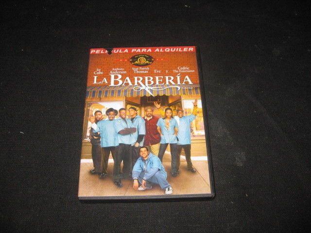 Pelicula en DVD La Barberia buen estado