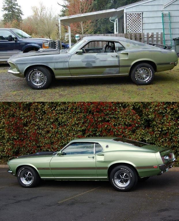 1969 Mustang 390 Mach 1 Restoration  Throwback Thursday on Mustang Conne...