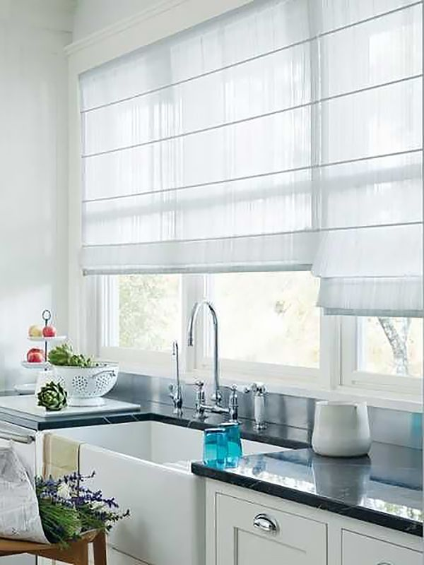25 best ideas about net curtains on pinterest for Contemporary kitchen window treatment ideas
