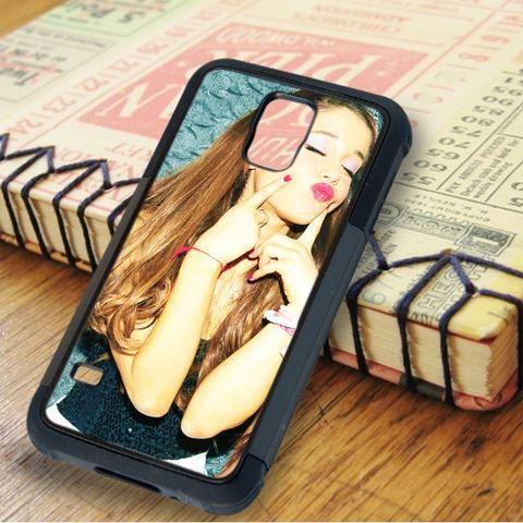 Ariana Grande Sexy Kiss Samsung Galaxy S5 Case