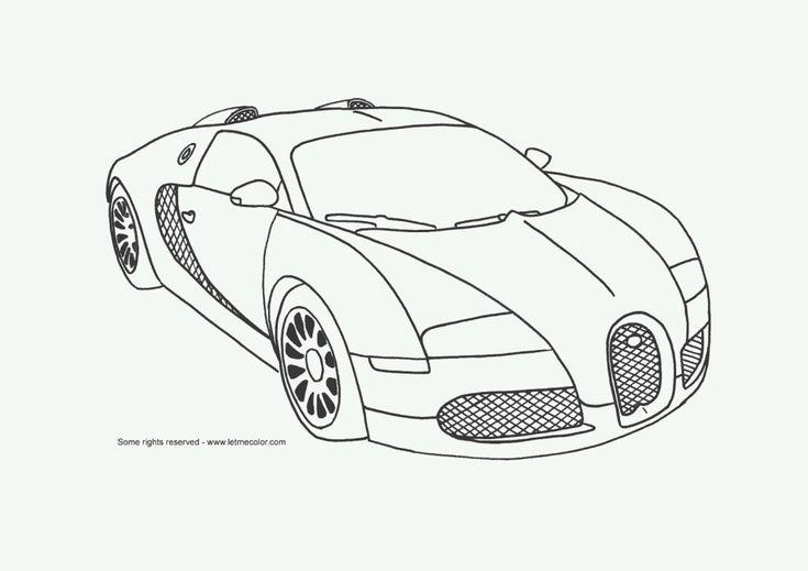 draw cool cars bugatti