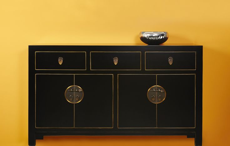 The Nine Schools - Large Black Sideboard £500 with free delivery