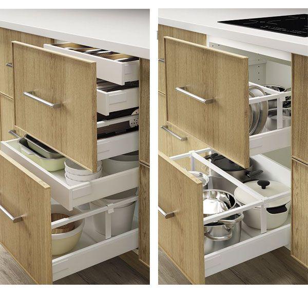 17 meilleures id es propos de separateur tiroir sur for Separateur tiroir cuisine