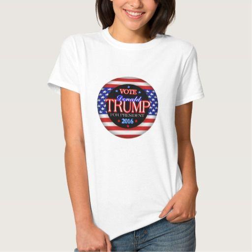Donald Trump Flag President 2016 Sleeveless T-shirt