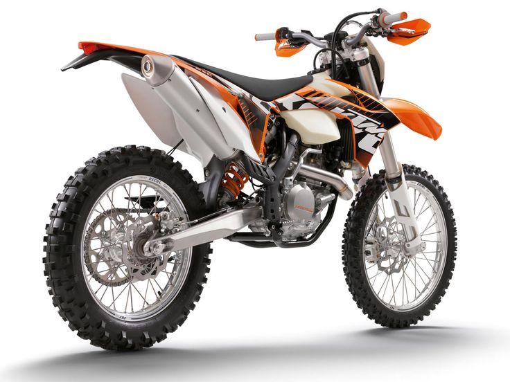 2012 KTM 450 EXC dirt bike