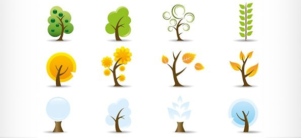Logo Design Ideas Free negative space logo design mr write 23 Free Creative Environmentnature Vector Logo Designs Download Integral Theory Pinterest Templates Free And Logos