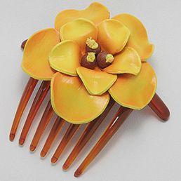 Accesorii par din piele model floral. http://www.argintarie.ro/Accesoriu-par--p-17102-c-379-p.html