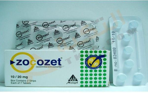 دواء زوكوزيت Zocozet عبارة عن أقراص ت ستخدم في التقليل من وخفض دهون الدم والذي ينتج من تراكم الدهون بالجسم وت عرف باسم الدهون الثلا Tablet 10 Things Supplies