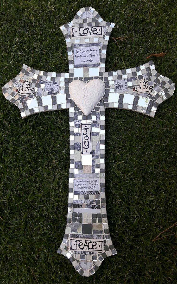 #mosaic cross